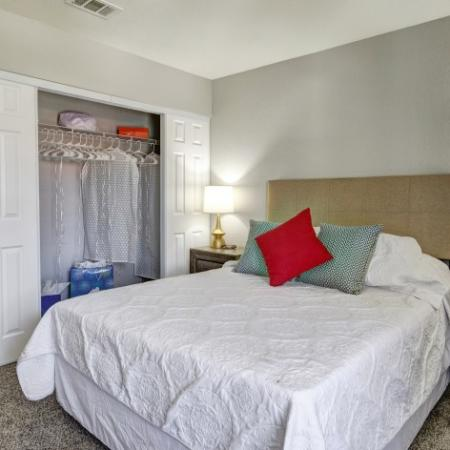 Spacious Bedroom with Large Closet
