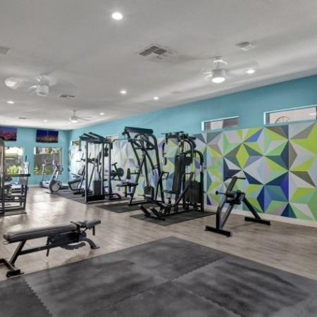 Cutting Edge Fitness Center | Luxury Apartments Henderson Nv | Martinique Bay