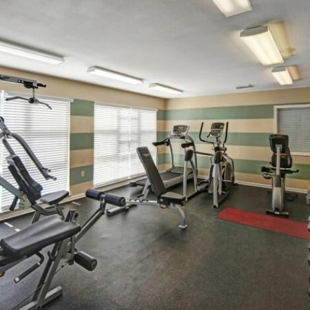 Community Fitness Center     Apartments For Rent Near Charlottesville VA     Mallside Forest