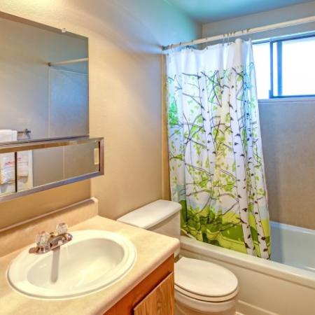 Bathroom | Kirkland Washington Apartments | The Emerson