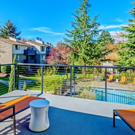 Outdoor Lounge | Pet Friendly Apartments In Kirkland WA | The Emerson
