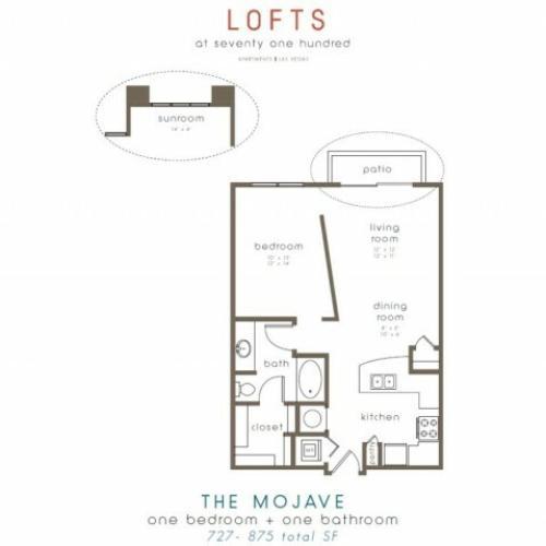 Lofts at 7100 Apartments