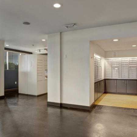 Pratt Park Apartments Mail Room and Package Concierge System