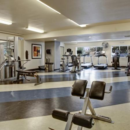 24-Hour State of the Art Fitness Center