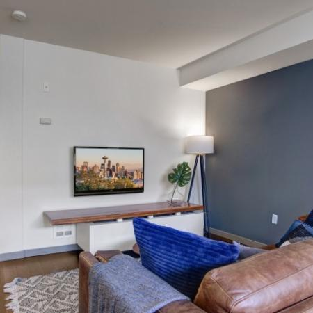 Renovated Finish with Accent Wall Available Upon Request