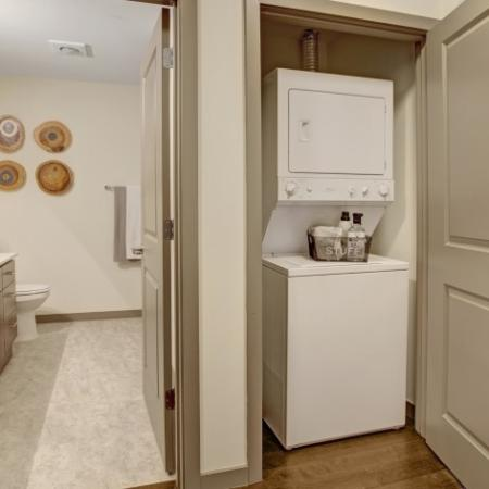 Renovated Finish with in-unit Washer and Dryer