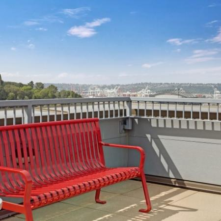 Rooftop Deck with Stunning Views