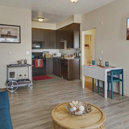 Spacious Living Room | 3 Bedroom Apartments In Beaverton Oregon | Element 170