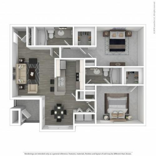 1 Bed / 1 Bath Apartment In Antioch TN