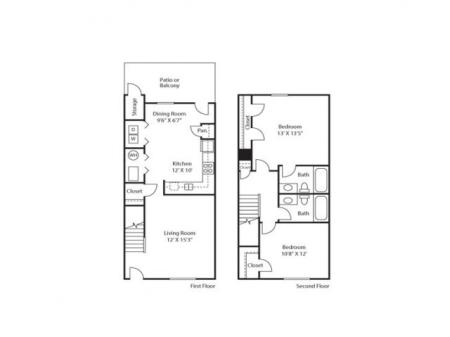 Affordable 2, 3 and 4 Bedroom Apartment and Townhomes  |  Apartments in Northglenn CO For Rent  | Greens at Northglenn Apartments