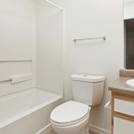 Spacious Bathroom | Apartments in Colorado | Greens At Northglenn Apartments