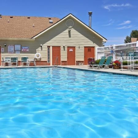 Resort Style Pool | Apartments In Northglenn Colorado | Greens At Northglenn Apartments