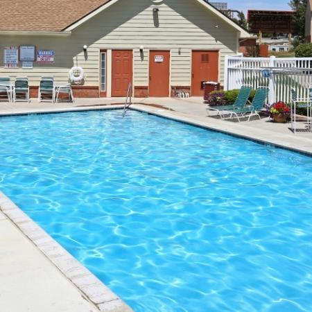 Outdoor Swimming Pool | Best Apartments In North Las Vegas | Greens At Northglenn Apartments