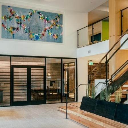 Lobby and Leasing Office | Augusta Apartments | Apartments in Seattle