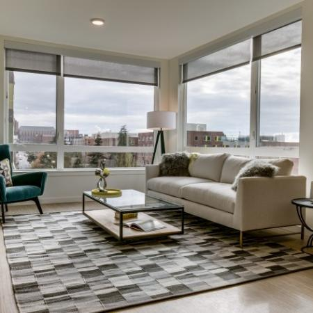 Open Living Area Layout | Augusta Apartments | Apartments in Seattle