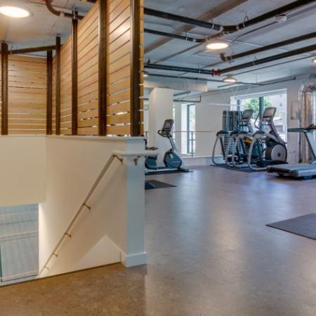 State-of-the-Art Fitness Center with Free Weights | Augusta Apartments | Seattle Apartments for Rent