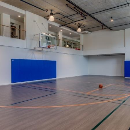 Basketball Sports Court | Augusta Apartments | Seattle Washington Apartments