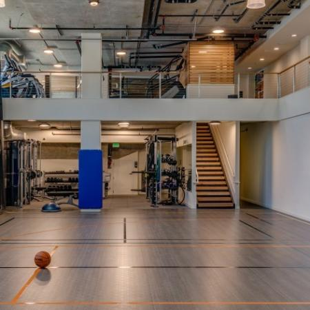 Basketball Sports Court | Augusta Apartments | University District apartments