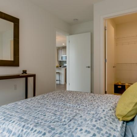 Spacious Bedroom | Augusta Apartments | Seattle Washington Apartments