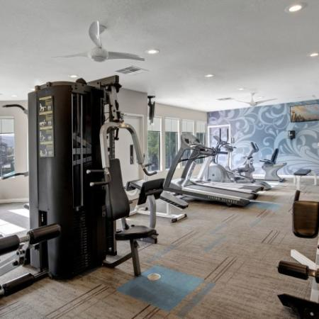 Cutting Edge Fitness Center | Pet Friendly Apartments In Henderson NV | Verona