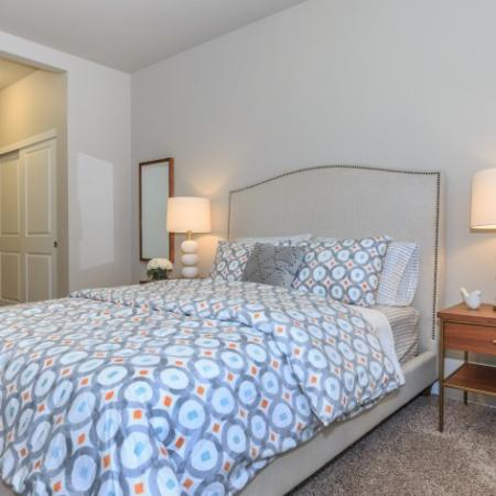Luxurious Bedroom | Outlook at Pilot Butte Apartments | Bend Oregon Apartments