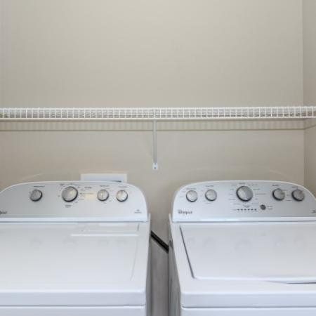 In-apartment Laundry | Outlook at Pilot Butte Apartments | Bend Oregon Apartments