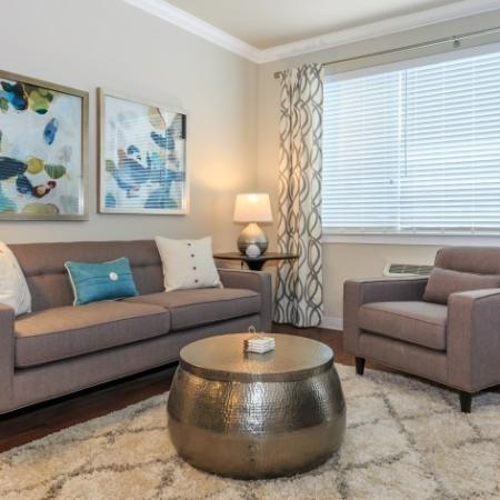 Roomy Living Room | Outlook at Pilot Butte Apartments | Apartments For Rent Bend Oregon