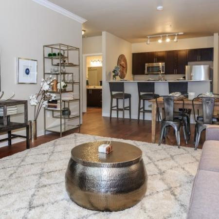 Spacious Living Room | Outlook at Pilot Butte Apartments | Bend Oregon Apartments
