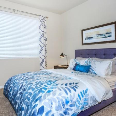 Vast Bedroom | Outlook at Pilot Butte Apartments | Apartments For Rent Bend Oregon