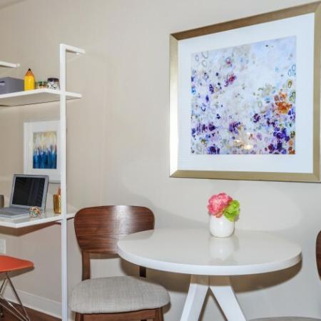Elegant Living Area | Outlook at Pilot Butte Apartments | Apartments Bend Oregon