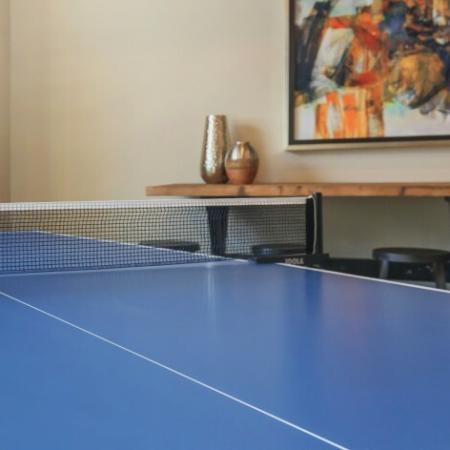 Table Tennis setup | Outlook at Pilot Butte Apartments | Apartments Bend Oregon