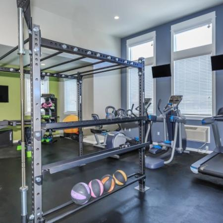 On-site Fitness Center | Outlook at Pilot Butte Apartments | Bend Oregon Apartments