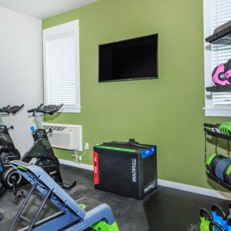 State-of-the-Art Fitness Center | Outlook at Pilot Butte Apartments | Apartments For Rent Bend Oregon