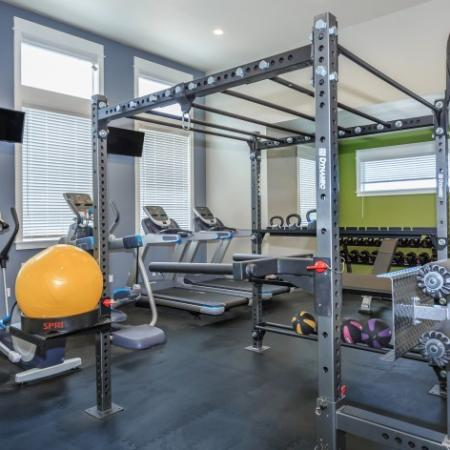 Fully Equipped Fitness Center | Outlook at Pilot Butte Apartments | Apartments For Rent Bend Oregon