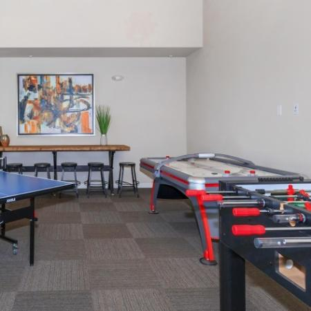 Community Game Room | Outlook at Pilot Butte Apartments | Bend Oregon Apartments