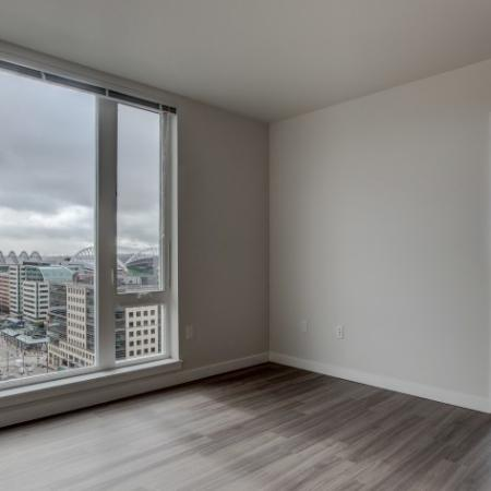 Luxurious Living Room | HANA Apartments | Seattle Apartment For Rent