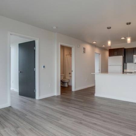 Spacious Living Area | HANA Apartments | Apartments Seattle Wa