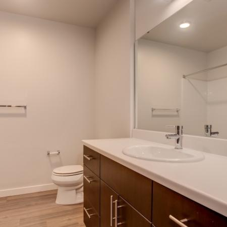 Bathroom | HANA Apartments | Apartments Seattle WA