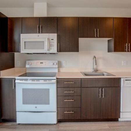 Details of Appliances & Cabinetry | HANA Apartments | Apartments Seattle WA