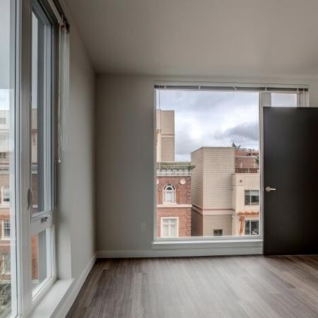Elegant Living Area | HANA Apartments | Seattle Apartments