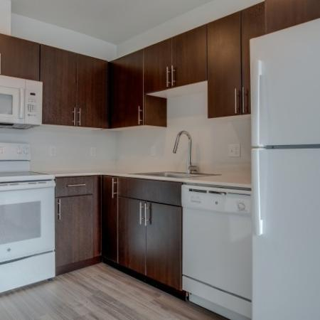 Kitchen | HANA Apartments | Apartments Seattle WA