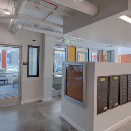 Mail Room | HANA Apartments | Apartments Seattle WA