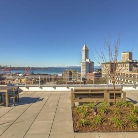 Roof Top Deck | HANA Apartments | Apartments Seattle WA