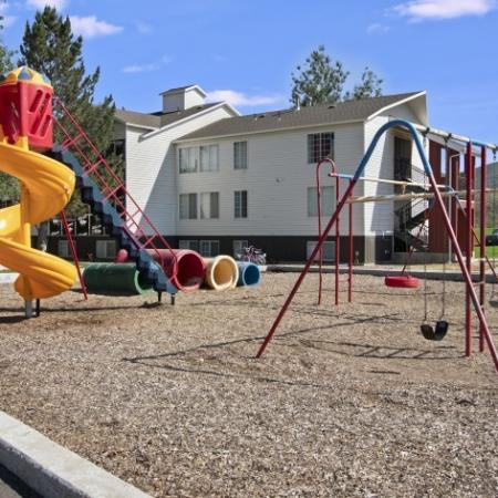 Playground Area   Apartments For Rent In Park City UT     Elk Meadows Apartments