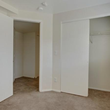 Elegant Bedroom with Large Closet Space   Apartments In Park City UT   Elk Meadows