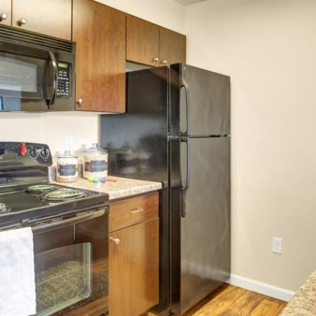 Spacious Kitchen | Studio Apartments In Dupont Wa | Trax at DuPont Station