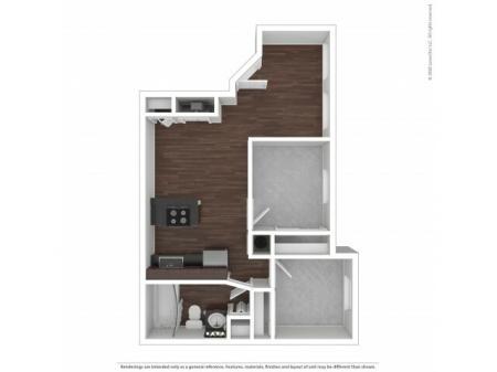 Two Bedroom Floor Plan   Apartments For Rent In Park City, UT   Elk Meadows Apartments