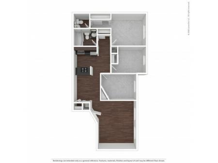Three Bedroom Floor Plan   Apartments For Rent In Park City, UT   Elk Meadows Apartments