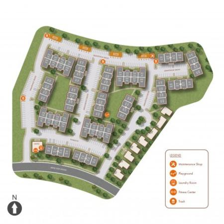 Winfield Apartments Site Map