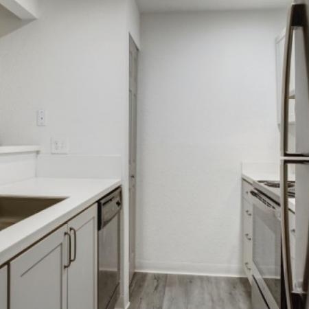 Renovated Kitchen with Stainless Steel | Westview Village Apartments | Apartments In Renton